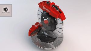 Brembo Brake by 16Honestly