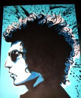 bob dylan by Dangerstorm