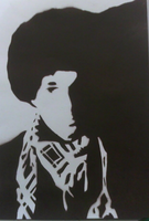 stencil of me by madboy10