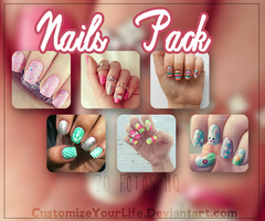 #Nails || Pack by CustomizeYourLife