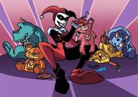 HARLEY QUINN COLORS by CHIZZZ