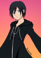 Xion Kingdom Hearts 358/2 Days Colored! by Ikuzram021