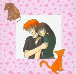 Fruits Basket: Kagura and Kyo by Ryoko-and-Yami