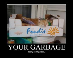 Your garbage by Psi-Psiana