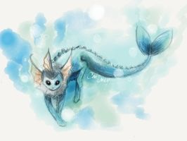 Vaporeon by LuminousSky