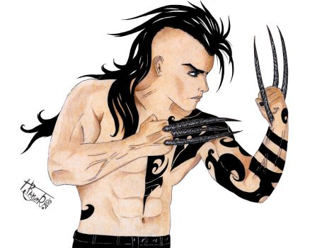 Daken (color) by Rayner80