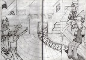 Take a look on Twilight Town Sketch no. 2 by HimmelMidgard