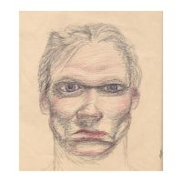 Self-Portrait in ball-point by lonorising