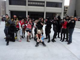 Resident Evil Momo Con 2013 Group by BlueEyesMaster