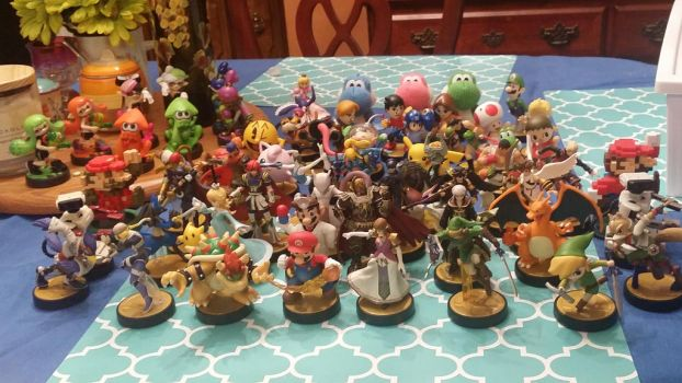 My entire Amiibo Collection by GDKPhotography