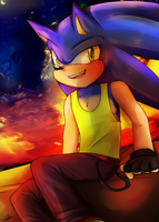 Sonic by Klaudy-na
