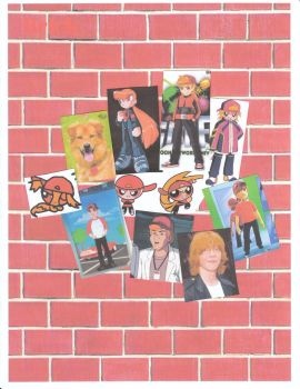 Brick Collage by LilyBlossom24