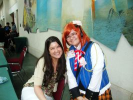 Me and Colleen Clinkenbeard by TenTen143