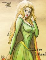 The Wheel of Time: Elayne by darlinginc