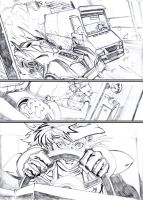 BATMAN ARKHAM CITY (cut and run) page 1 by andrew-henry