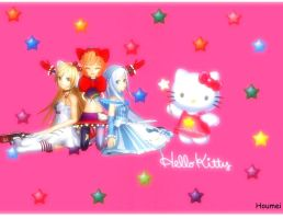Hello Kitty Trio by houmei1216