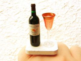 Wine Lovers Ring by souzoucreations