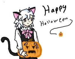 Happy Halloween Ryou by KuroKittyy