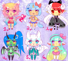 Kemonomimi Kuties! (ALL SOLD) by Yumeimi