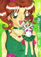 Princess-Sailor Jupiter by YuniNaoki