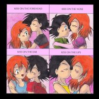 Cute-Kiss meme with AshxMisty by KasumiKetchum