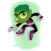 Beast Boy Go! by toonbaboon