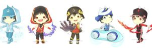 Boboiboy 2nd Form Chibi by oczelt