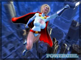 Powergirl by Ondoval