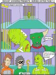 DA Heroes United page 1.2 by backerman