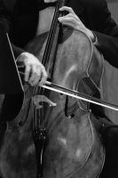 The Cellist by 10000Greetings