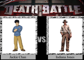 Jackie Chan vs. Indiana Jones by JasonPictures