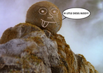 Larry the boulder by scifiguy9000