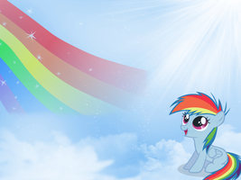 Rainbow Dash Wallpaper by Swordbeam