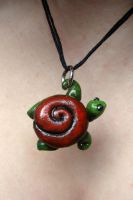 Turtle Pendant by PoisonJARCreations