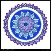 Heartfelt Redolence Mandala by Quaddles-Roost