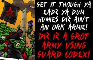 GROT GUARD ARMY by Proiteus