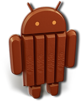 Android 4.4 KitKat Logo by kingwicked
