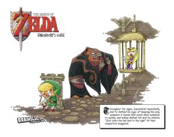 Legend of Zelda: Ganondorf's Logic by BrainslugComics