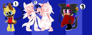 Sonic Adoptables 132CLOSED by DarkBlueGlass
