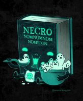 Necronomnomnomicon by missqueenmob