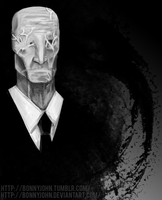 Slender (w speed paint) by BonnyJohn