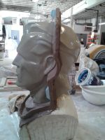 Mannequin Head Side by Trash-Bot