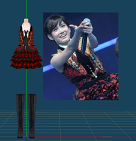[WIP] AKB48 uniform by Dan1024