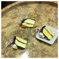 Miniature Yellow Cake Set by TheVisualStorm