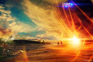 surf life by creasitedesign