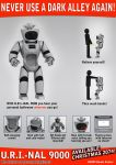 U.R.I.-NAL 9000 Bathroom Robot by hauke3000