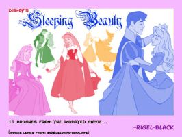 Sleeping Beauty Set by Rigel-Black