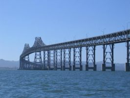 Bay Bridge, CA by johrod1418