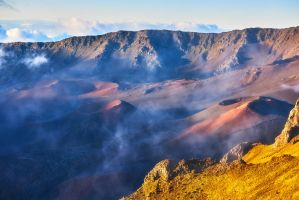 Crater Rising by AndrewShoemaker