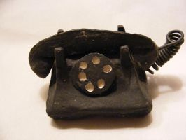 Miniature Telephone by deviantmike423